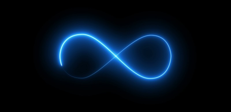 Continuous Change Infinity Symbol