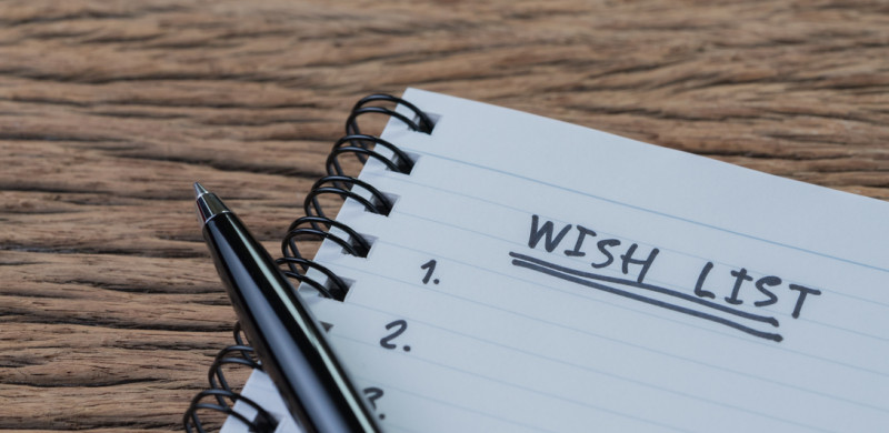 Wish list concept