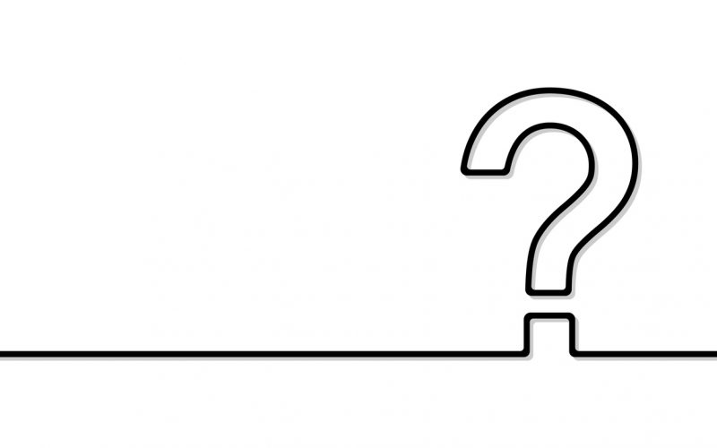 The question mark